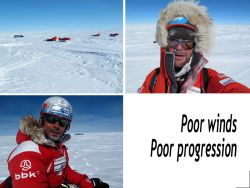 Still 800 km to reach the South Pole