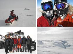 They are still at 1.080 km from the Pole of Inaccessibility (POI)