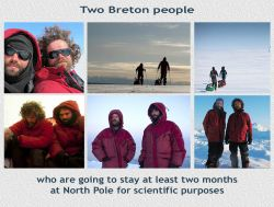 Bad weather and extreme cold prevent the expedition to leave