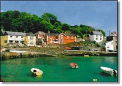 Cuan Dor - Harbour of the Oaks - is one of the prettiest villages in Ireland.