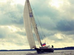 The russian monohull Peter 1st