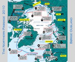 Ousland's route back to Norway