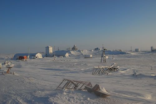 Dikson: a place on the edge of the world, buried under snow and ice during two months of the year.