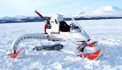A transantarctic crossing using this vehicle
