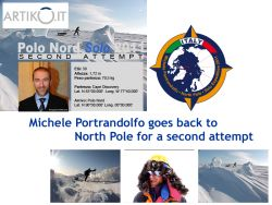 After an abandon last year, Ortrnadolfo goes back to North Pole