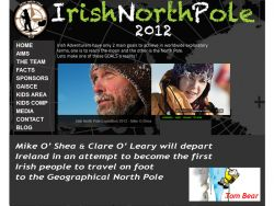 An Irish first at the North Pole