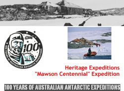 Going back to the famous Mawson Hut