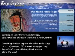 Børge Ousland and team have two polar parties this season