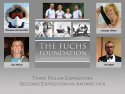 Four teachers go to Antarctica for the Fuchs Foundation
