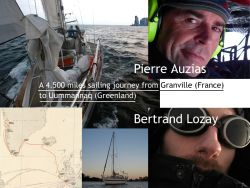 Sailing from France to Greenland to celebrate a twinning