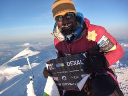 After having succeeded his 737 Challenge, Richard Parks is on the classical trek Hercules Inlet - South Pole
