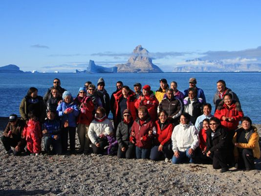 Uummannaq and Granville twining organisation.