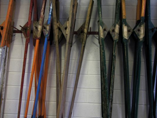 Oars from the Dingle club