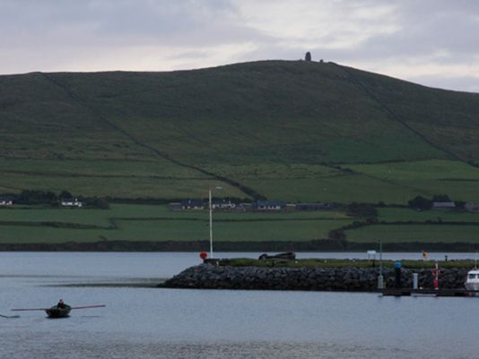 Our last evening in Dingle, admiring  Naomóghs........