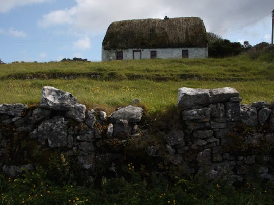 Traditional cottage at Inish More