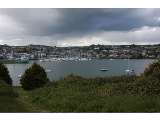 Kinsale as seen from James Fort