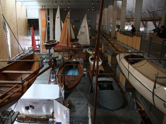 Cornwall's National Maritime Museum in Falmouth.