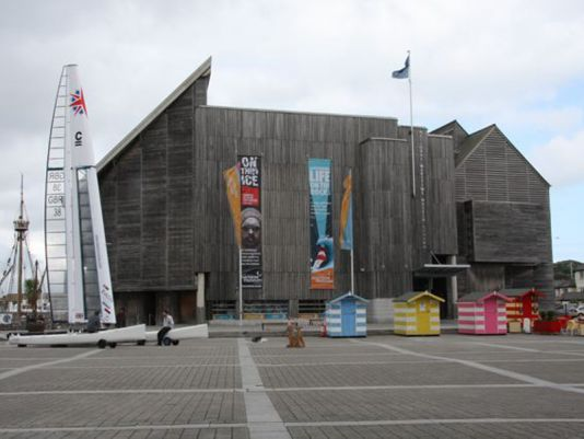 The National Nautical Museum in Falmouth, built with oak in 1999/2000 is worth a visit.