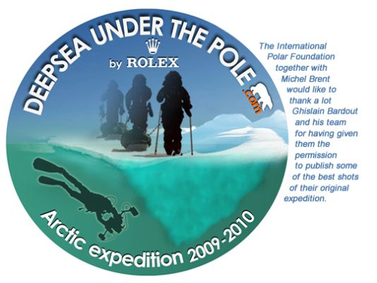 If you want to have a brider information about this expedition, please visit the pages Explorapoles has dedicated to the follow-up of it. (Section Expeditions > Arctic 2010 > Under The Pole).