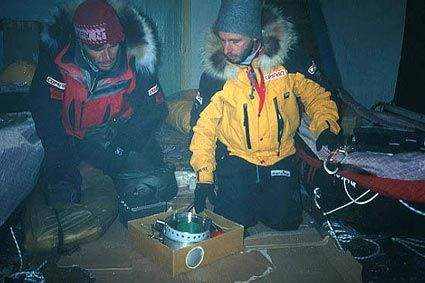 Thursday February 21, Tiksi / It was Dixie on the satellite phone today. He confirmed that the